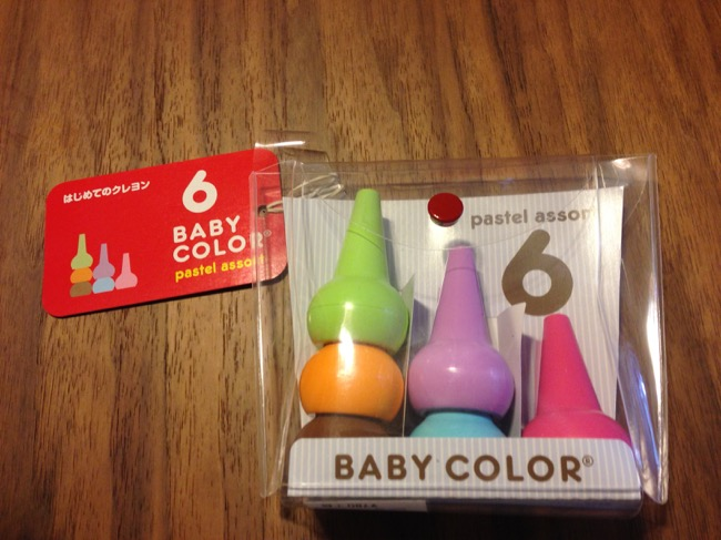 Baby color ベビーコロール 6色セットを購入